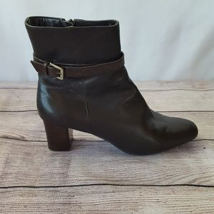 Bandolino Short Brown Leather Boots